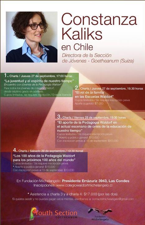 Constanza Kaliks en Chile