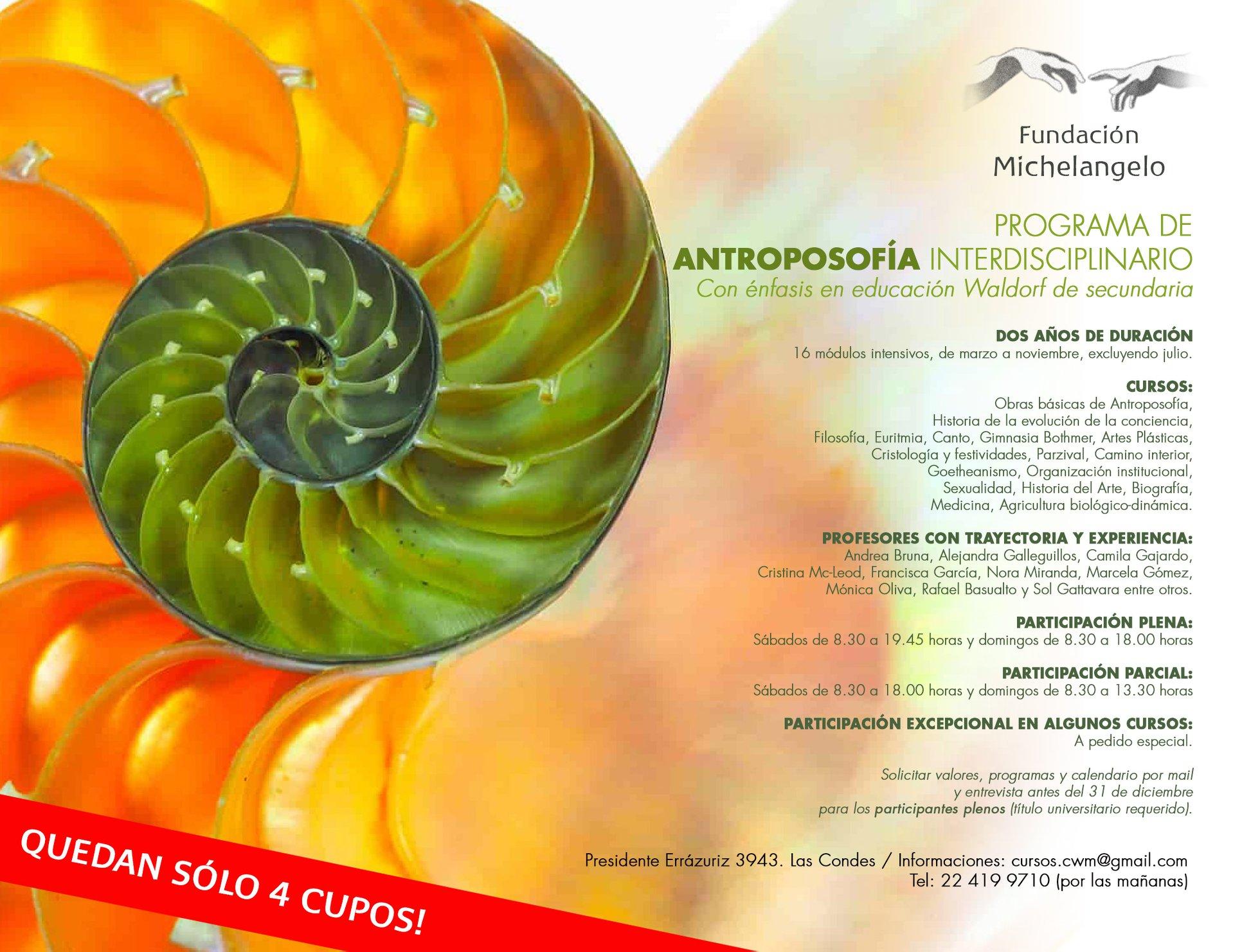 Comienza Programa de Antroposofía Interdisciplinario