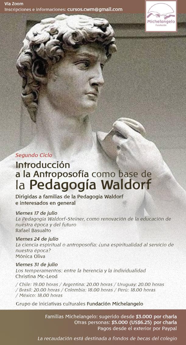 Introducción a la Antroposofía como base de la Pedagogía Waldorf – 2º Ciclo