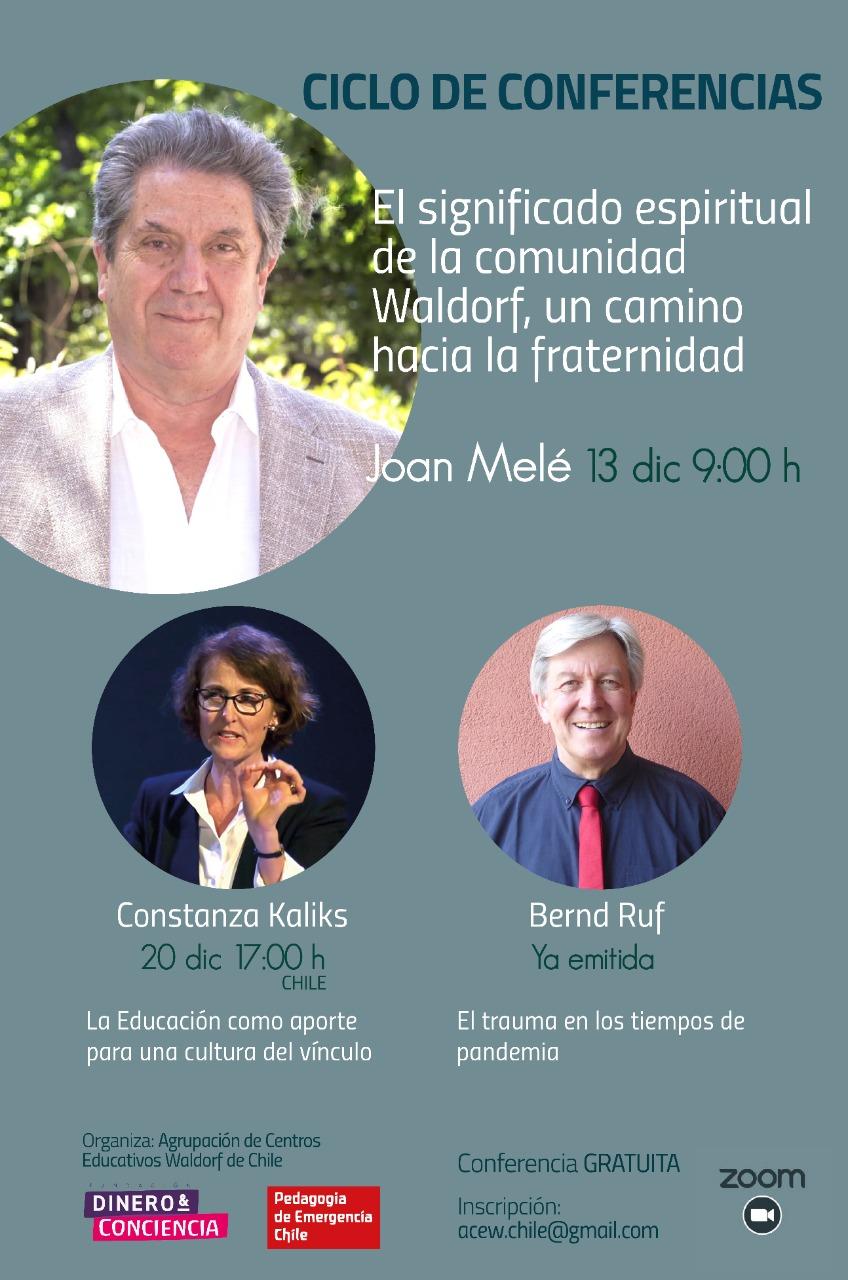 Ciclo de Conferencias – Charla Joan Melé