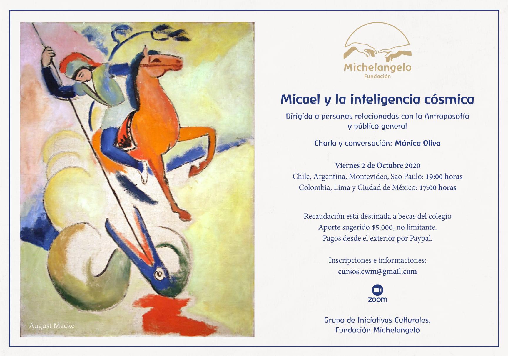 Micael y la inteligencia cósmica